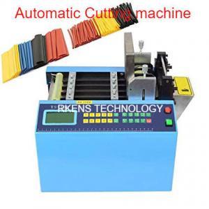 China English Language Automatic Webbing Cutter For Heat Shrink / PVC Sleeve Tubing on sale
