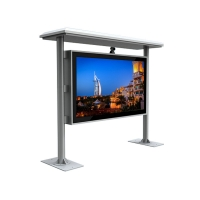 "China 43"" 4000cd/m2 2000 Nits Floor Standing Digital Signage 3600W wholesale"