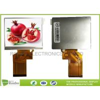 Buy cheap 3.5 inch 320x240 RGB 54pin TFT LCD Screen,IC:HX8238D,With Option Touch Panel from wholesalers