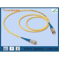 Fiber optic patch cord: - Features: -- Insertion loss is low -- Return loss