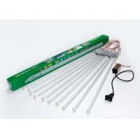 China Snow Falling LED Meteor Lights White / Warm White 100 - 240v 50cm 10 Tubes wholesale