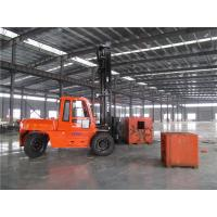 Buy cheap 7m Triplex Mast Big Container Forklift Truck , 10 Tonne Forklift Hire / Rental from wholesalers