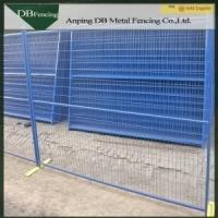 Buy High quality powder coated temporary fence for canada market
