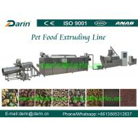 China High Efficiency Automatic pet food extrusion process Line stainless steel wholesale