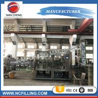 China Pet Bottle Soft Drink Water Carbonated Drinks Filling Machine Washing Filling Capping Machine on sale