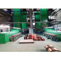 China Vertical Super Enamel Coating Machine For Copper Wire Stripping 24 Lines 0.80-2.5mm wholesale