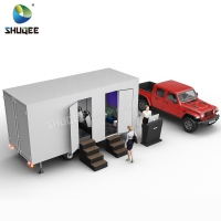 China Mobile Simulator Mini 5d Cinema Trailer With Motion Chair Theater wholesale