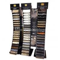 Buy cheap Black Wood Metal Cambira Stone Showroom Display Stand Freestanding For Tiles from wholesalers