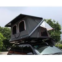 China Half Automatic Z Shaped Hard Shell Roof Top Tent wholesale