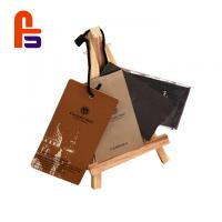 Buy cheap Custom Logo Name Garment Cardboard Gift Tags With Eco Friendly Materials from wholesalers