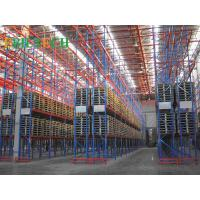 Buy cheap ISO Storage VNA Racking System , Commercial Automatic Narrow Aisle Pallet from wholesalers