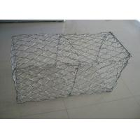 China Gabion Basket Galvanized Gabion Box With 2.7mm 3.05mm Wire Anti - Crossion 2m * 1m * 1m wholesale