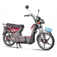 China Mens Powerful Coolest AOWA Electric Bikes Light Red Electric Pedal Bikes wholesale