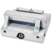 China Compact Automatic Table Top Paper Cutting Machine 320mm Table Depth HD-QZ320 wholesale