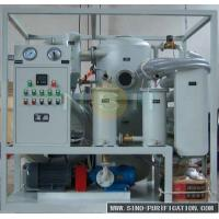 China 9000 Liters / Hour Oil Dehydration Machine Vacuum Oil Purifier For Power Transformer Of SIEMENS wholesale