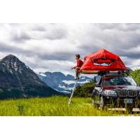 China UV 50+ Roof Rack Camping Tent , Jeep Roof Mounted Tent Fashionable Design wholesale