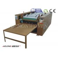 Buy cheap Customized 4 Colors Non Woven Bag Printing Machine With 1500~4500pcs/h Length 1200mm from wholesalers