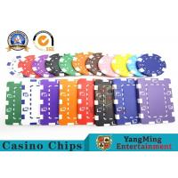 China Customized 12g ABS Material Sticker Casino Poker Chips Jeton Yangming wholesale