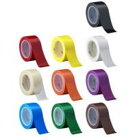 China 3M 471  Electrical Insulation Tape For Floor caution Tape Blue PVC Vinyl Rubber Adhesive wholesale