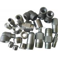 China Carbon steel and stainless steel socket welding fittings Elbow, Tee, Union, Cap, Coupling,Street elbow wholesale