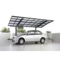 China Customized High Grade Aluminum Carport With Polycarbonate Roof Panels wholesale