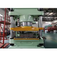 China 4 Columes Structure Plate Vulcanizing Machine Single Operation Platform Face - Down Design on sale