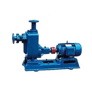 China ZW type self-priming non clogging sewage pump on sale