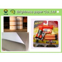 Lightweight Coated One Side Paper , Carrier Board Paper 400gsm / 450gms