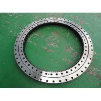 China small slewing ring bearing manufacturer 50Mn slewing ring, single row ball external gear slewing bearing on sale