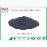 China RB C I Vat Black 9 Vat Direct Black Fabric Dye For Cotton Heat Resistant wholesale