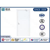 Buy cheap Against Theft Fire Rated Steel Door , Frame Lipping Fire Protection Door from wholesalers