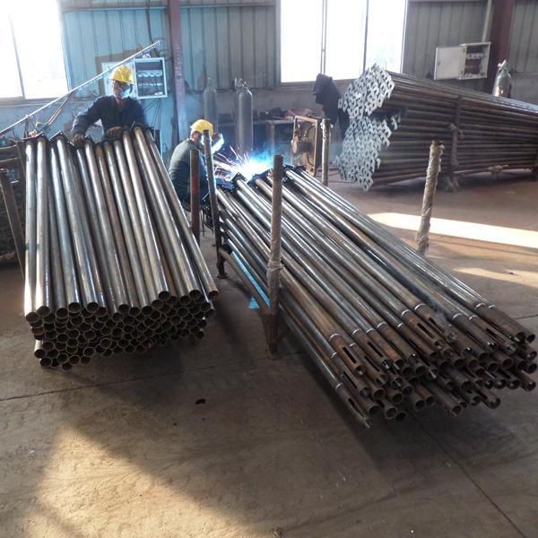 Adjustable Steel Post Shores : Heavy duty steel adjustable post shores concrete floor
