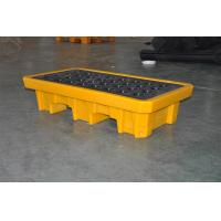 China Chemical Drum Spill Containment , 2 Drum Spill Pallet For Storing Oil / Solvents wholesale