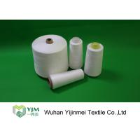 China Z Twist 100 Spun Polyester Yarn On Cones / Polyester Sewing Thread HS Code 55092200 wholesale