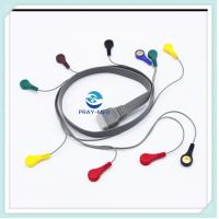 China 10 Lead ECG Patient Cable 1.5m Length Edan SE2003 / SE2012 For ECG Hotler Recorder wholesale