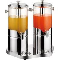 China Stainless steel juice dispenser for double tank wholesale