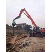 China 12-18 Meter Sheet Pile Vibratory Hammer , Steel Sheet Piling Hammers For Excavators wholesale