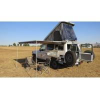 China Triangle Shaped Hard Shell Roof Top Tent Fireproof For Cars And Trucks wholesale