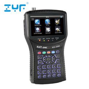 China 4.3 Inch Satlink Satellite Finder Meter HD 6960 With Digital LCD Display wholesale