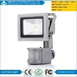 China IP65 10w led flood lighting pir sensor 10w led flood light  BridgeLux 10w led flood lights wholesale