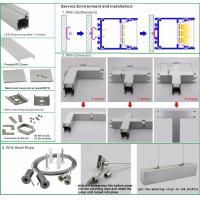 Factory Price led aluminum profile light fixture of ceiling wholesale led light bar extrusion from china
