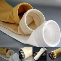 China Oil Water Repellent Polyester Filter Bag For Dust Collector Good Hydrolytic Stability wholesale