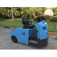 China Blue Electric Tow Tractor , Aircraft Towing Equipment KDS Frequency Conversion wholesale