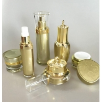 China Luxury Acrylic Cosmetic Plastic Packaging For Moisture Lotion Cream Serum wholesale