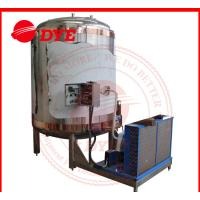 China Pipe Welding Vertical Custom Cold Water Tank For Berwery Line 2MM Thickness wholesale