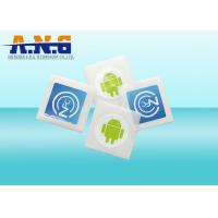 China ISO14443 RFID Passive Tags / Paper nfc chip sticker For Mobile Payment on sale