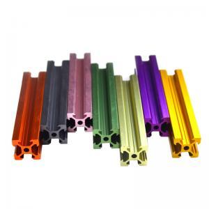 Colorful Black Anodizing v slot linear rail 20x40 V Slot Aluminium Profile v slot aluminium extrusion