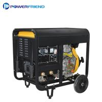 China Air Cooled Open Type 300A Diesel Welder Generator 2V88FAE Set For Welding Machine wholesale