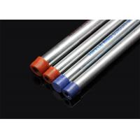 China BS 4568 / BS 31  Conduit Hot Dip Galvanized Conduit Pipe with screwed ends and caps   / wholesale