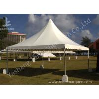China No Wall High Peak Tents, Pagoda High Peak Party Tent Polyester Fabric Cover wholesale